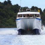 Catamaran speed boat