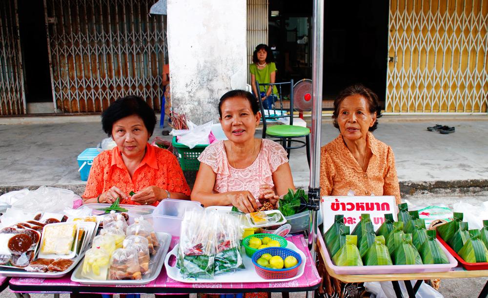 Three local ladies