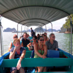 customers on the Phang Nga Bay tour