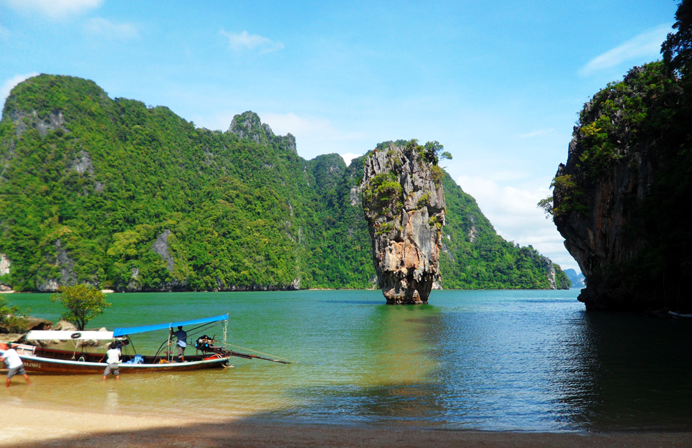 james bond island phang nga bay thailand