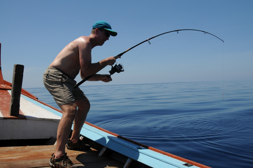 Fishing from Khao Lak on the Andaman Sea