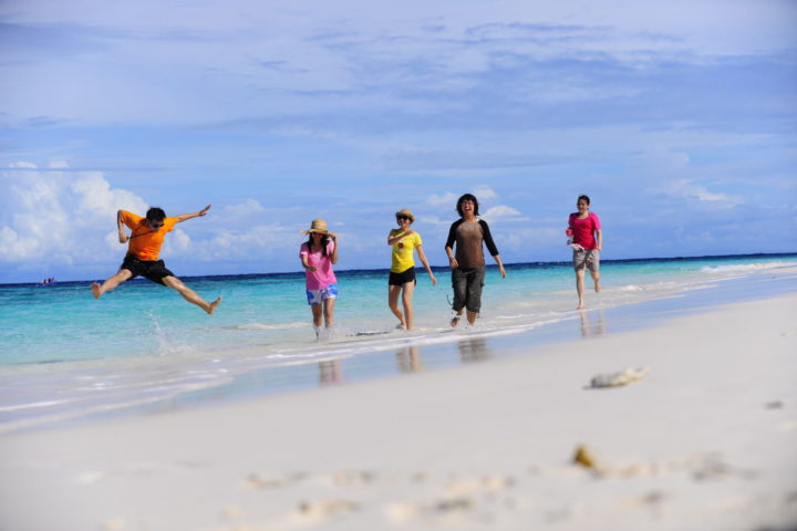 On the beach at Similan Island