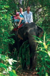 Elephant trekking is one of our most popular Khao Lak Tours
