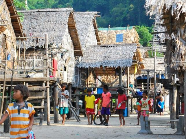 Moken Village on the Surin Islands in Thailand