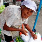 'Yai' or 'Grandma' still cooking noodles