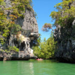 karst limestone cliffs phang nga bay tour thailand