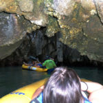 sea canoes through caves phang nga bay tour thailand