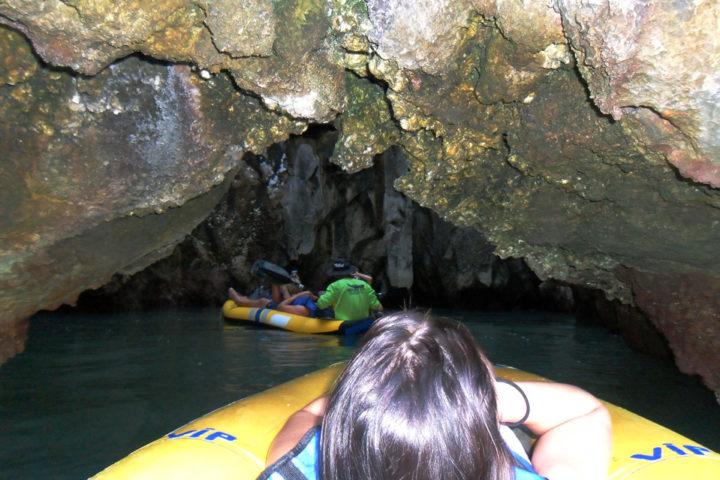 sea canoes through caves phang nga bay tour thailand
