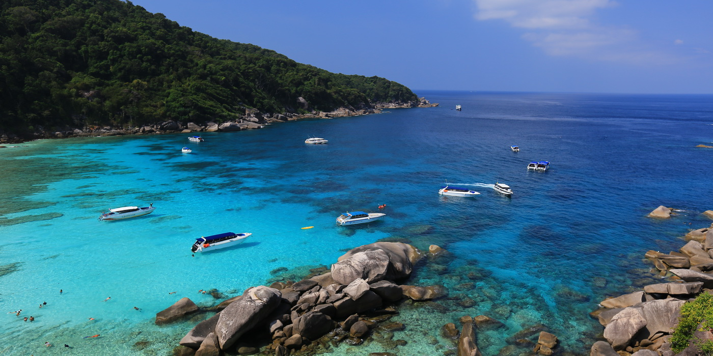 Snorkeling Trips to the Similan Islands