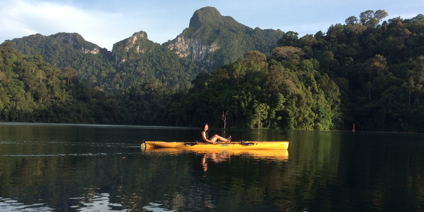 Kayaking Tour in Khao Sok