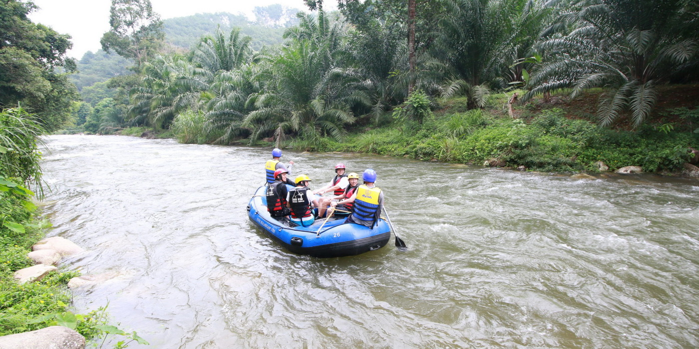 White Water Rafting and Elephant Friendly Activities